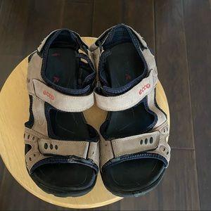 Ecco men's Strap outdoor sandals size 7.5 or 41